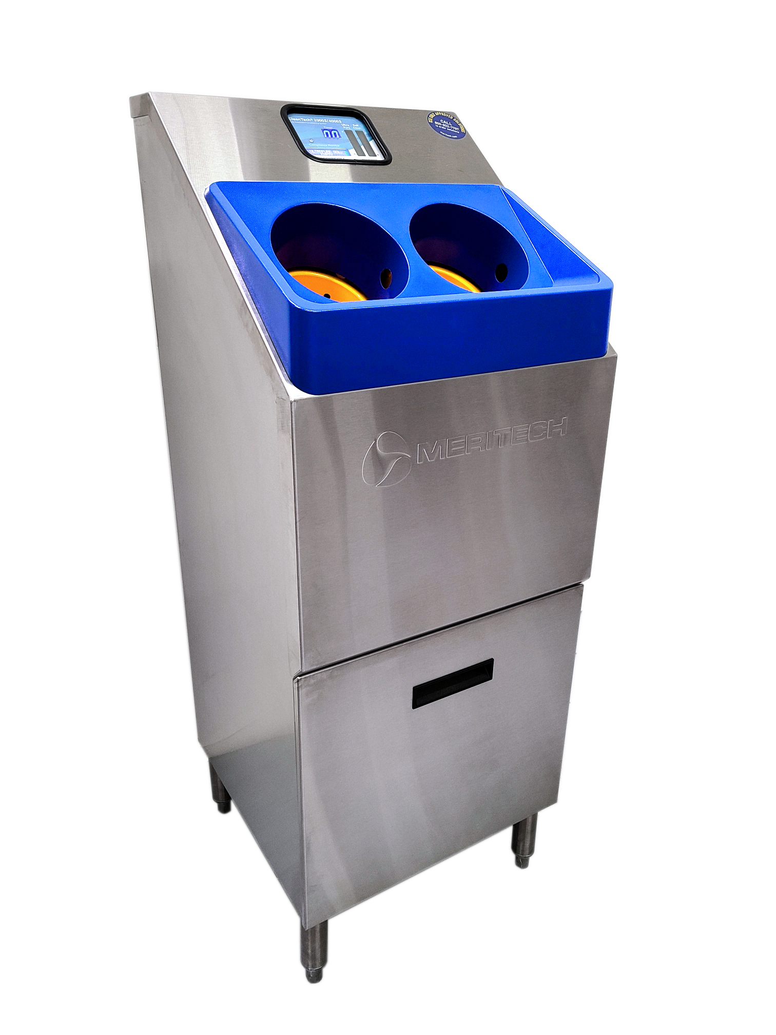 CleanTech® 2000S Free-Standing Automated Handwashing Station for Industrial Environments