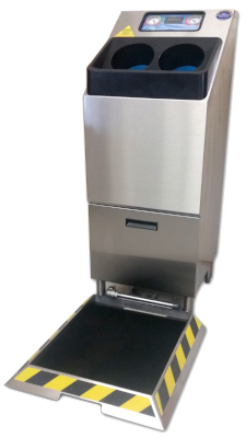 Meritech 2000SB Automatic Hand Washing & Boot Sanitizing Station