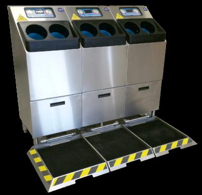 Meritech 4000SB Automatic Hand Washing & Boot Sanitizing Station