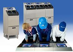 CleanTech 2000S & 4000S Automatic Hand Washing Stations In Use