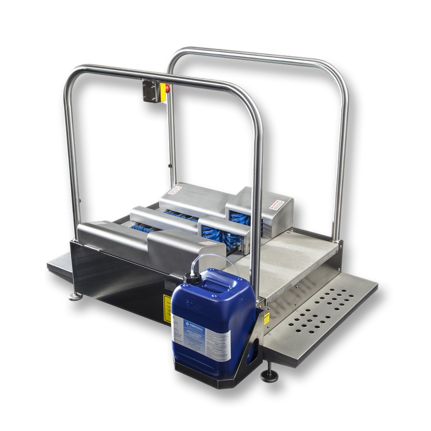 Meritech MBW-3000 Automatic Boot Scrubbing Station