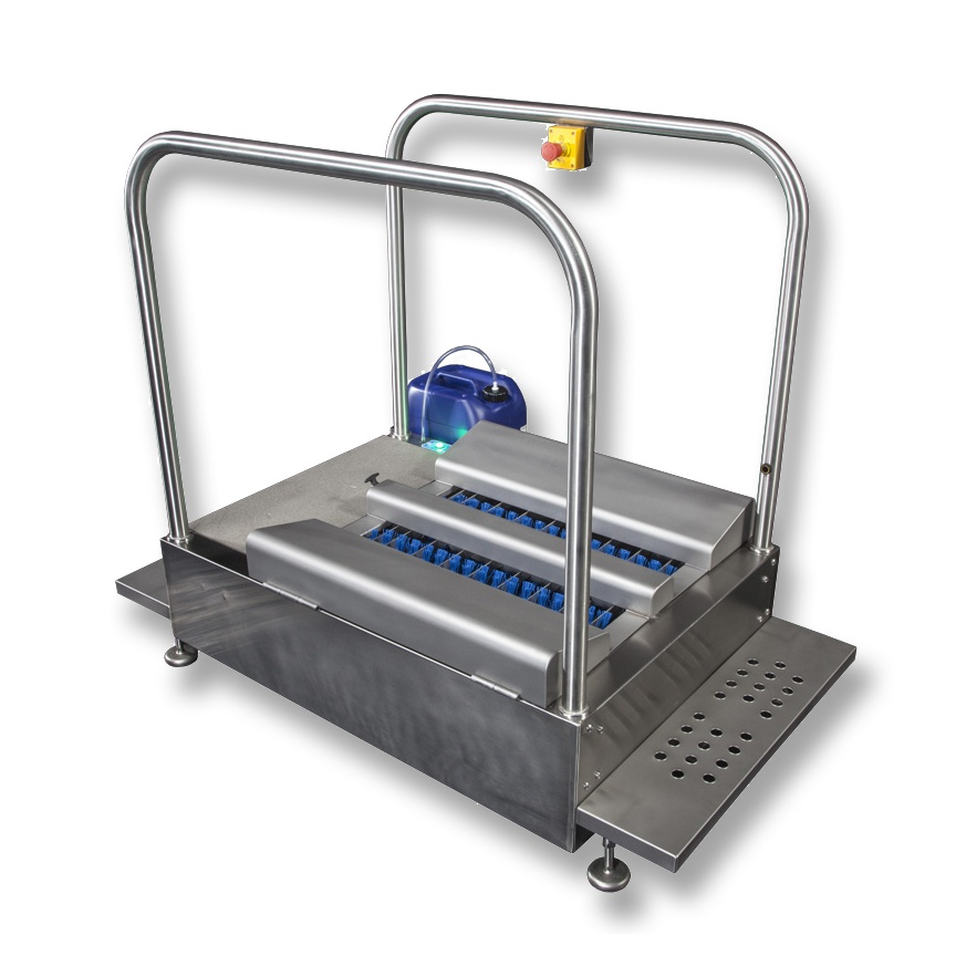 Mertiech MBW Soles Only Automatic Boot Scrubber Station