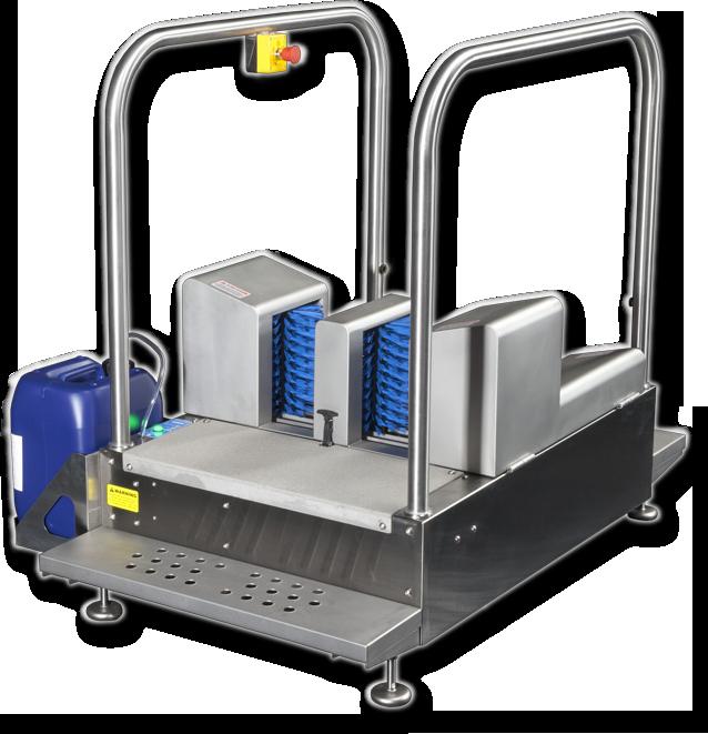 Meritech MBW9000 Automatic Boot Scrubbers