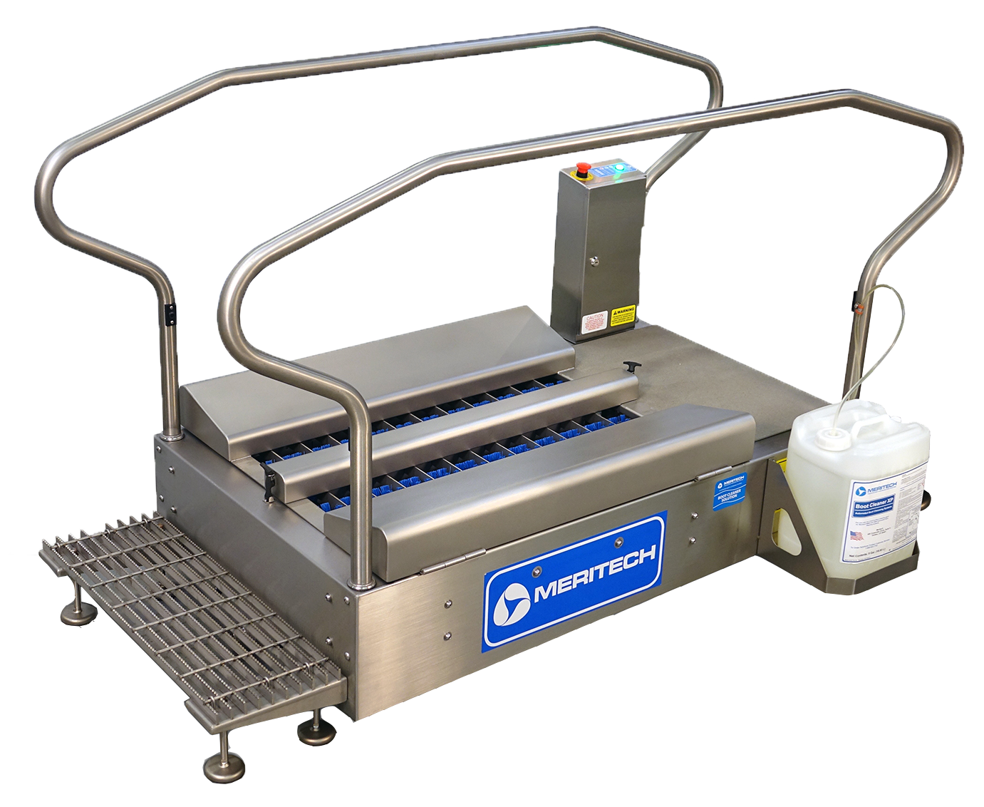 Meritech XBW SO Automatic Boot Scrubbing Station
