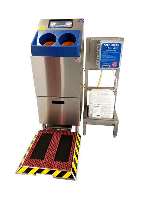 Sole Clean Dry Step Footwear Sanitizing Technology from Meritech in Golden, CO