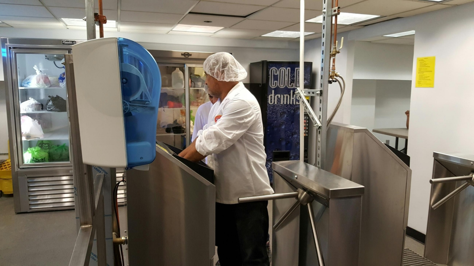 Meritech Automatic Handwashing Systems for Food Prep & Kitchens
