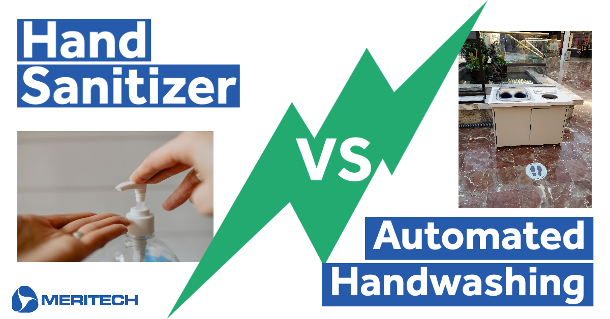Sanitizers VS Automated Handwashing in Schools