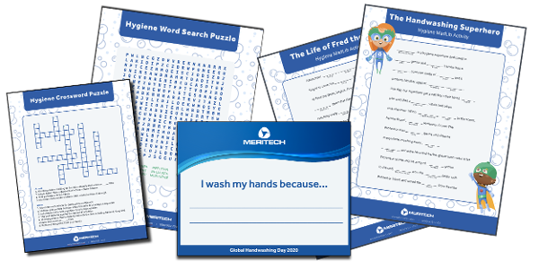 Meritech Celebrates Global Handwashing Day with Free Downloadable Hand Hygiene Education Toolkit for All