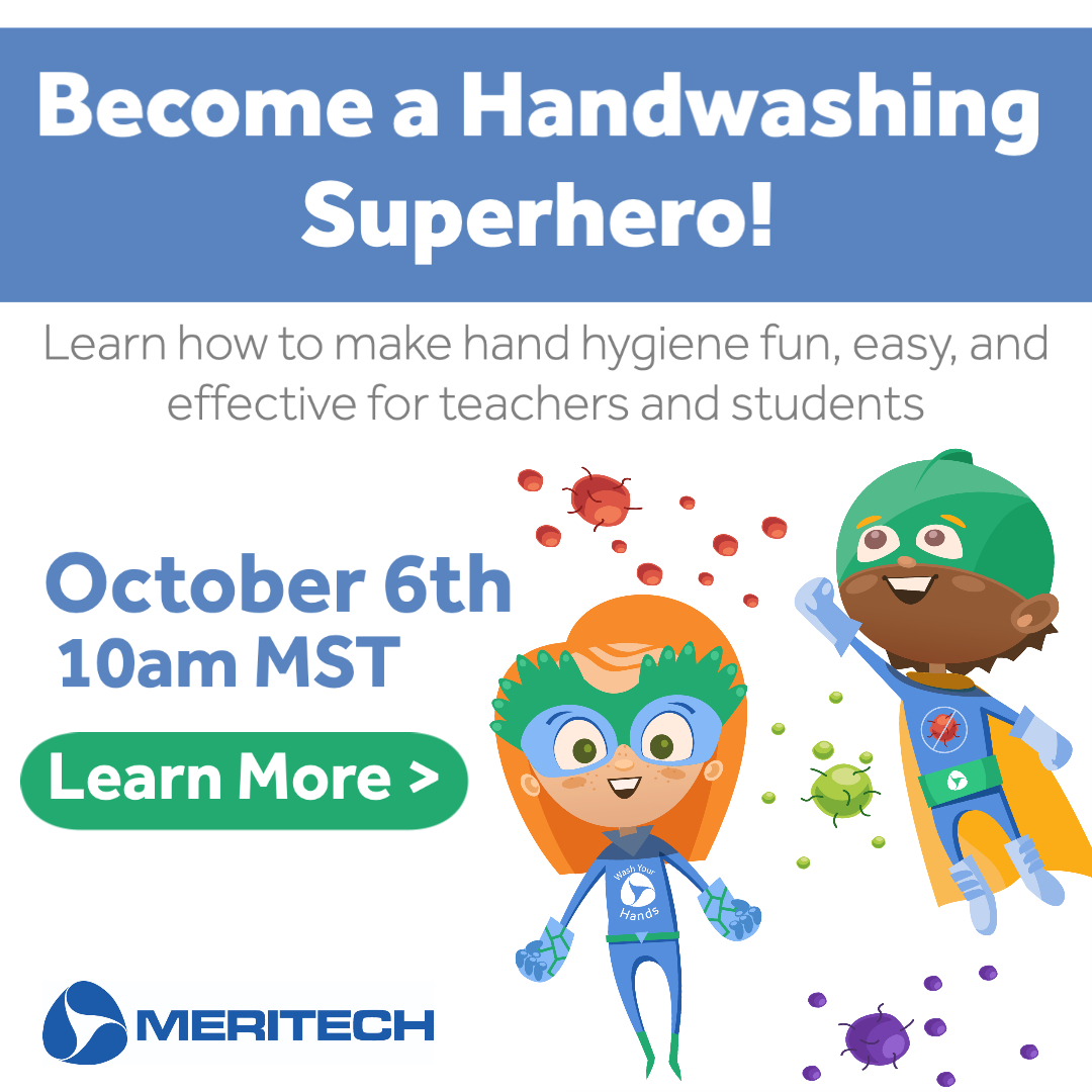 Webinar: Become a Handwashing Superhero