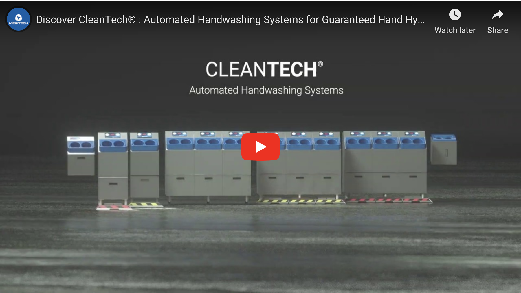 CleanTech® Handwashing Stations Overview