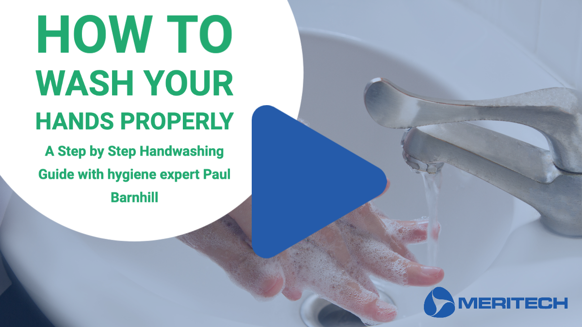 Hand Washing Steps with hygiene expert Paul Barnhill