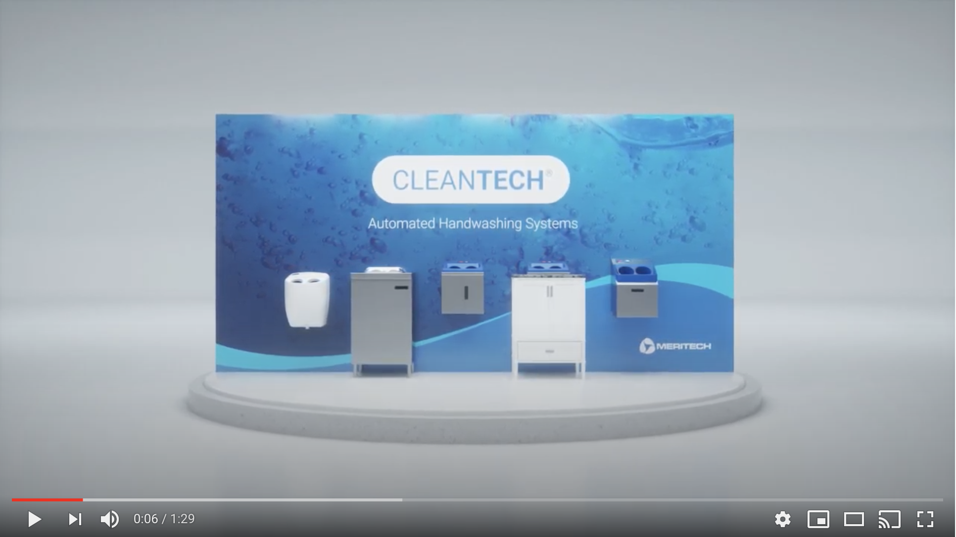 CleanTech® Handwashing Stations for Commercial & Public Use