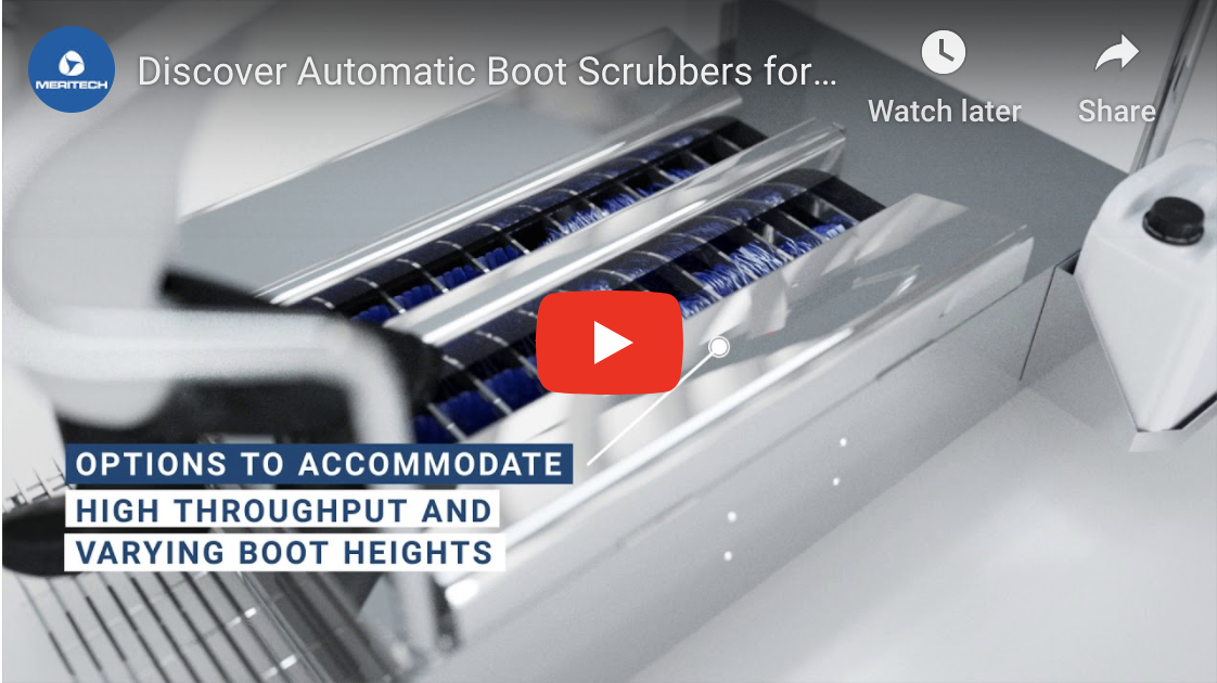 Meritech Automatic Boot Scrubbers Overview