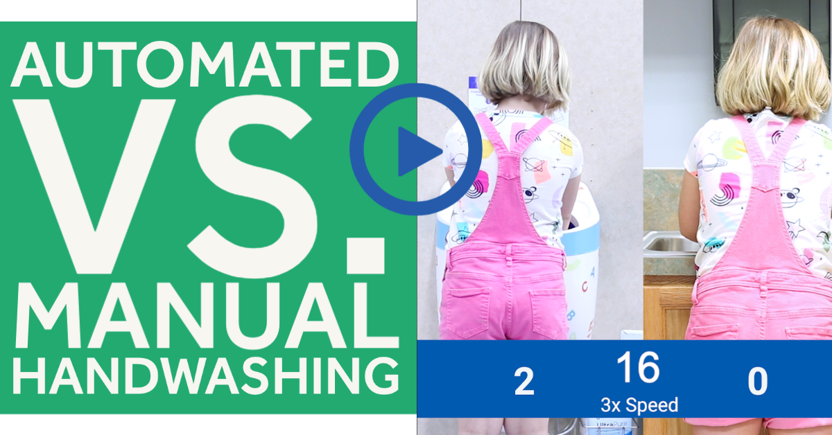 Automated vs Manual Handwashing | Save Time With CleanTech®