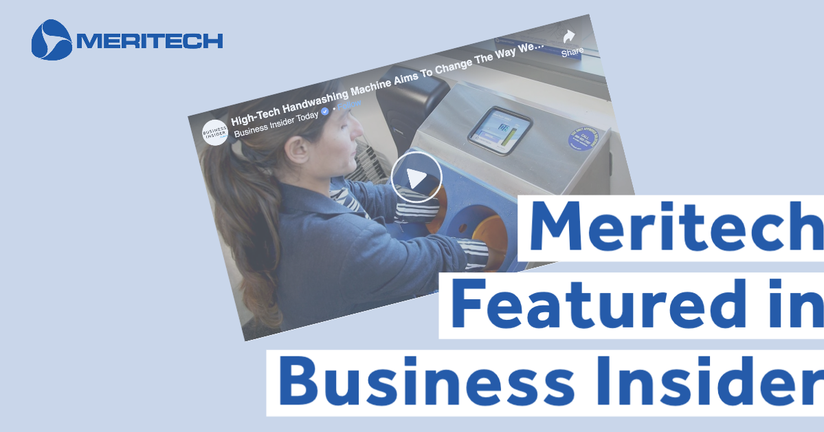 Meritech CleanTech® Automated Handwashing Stations Featured in Business Insider