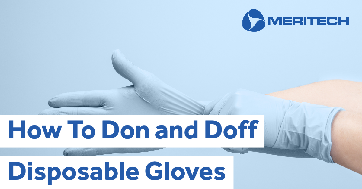 How To Don and Doff Disposable Gloves