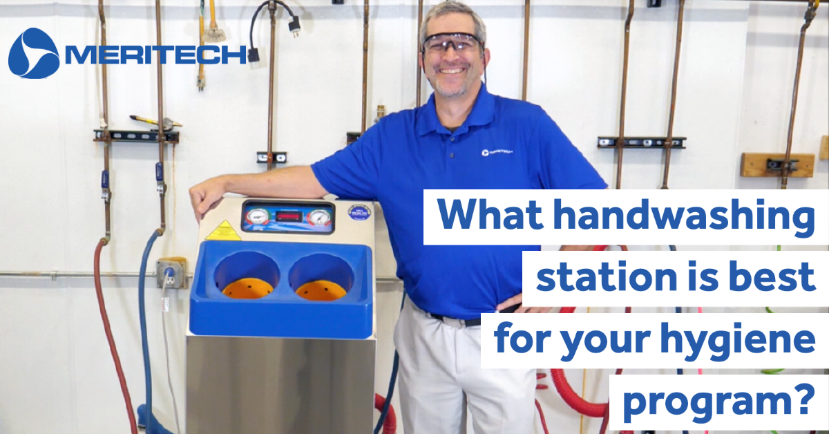What handwashing station is best for your hygiene program?